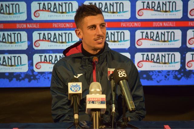 Emiliano Massimo, centrocampista del Taranto