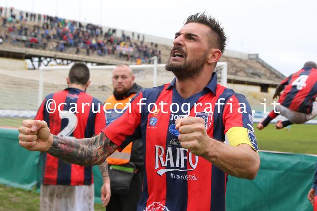 Beppe Genchi, suo il gol dell'unica vittoria del Taranto sulla Turris allo Iacovone