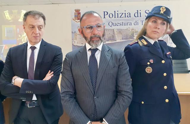 Giuseppe Bellassai, questore di Taranto