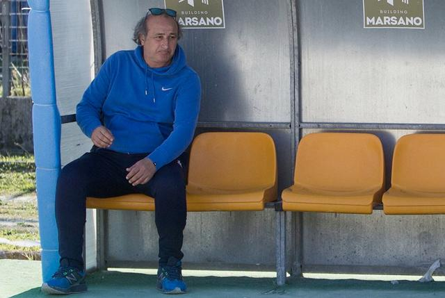 Antonio Toma, allenatore della Virtus Matino - Foto Virtus Matino pagina Facebook