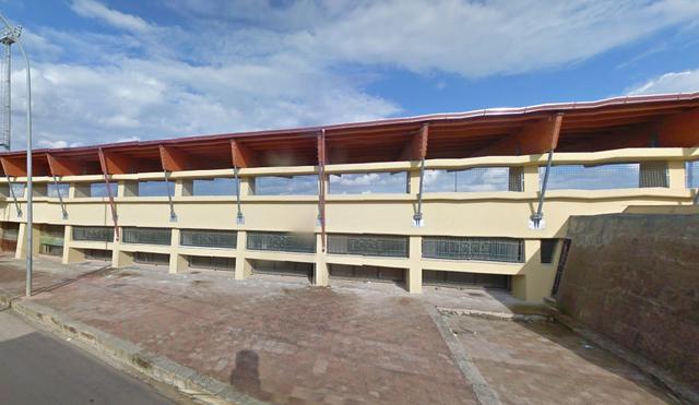 Lo stadio 'Celestino Leserra' di Avetrana
