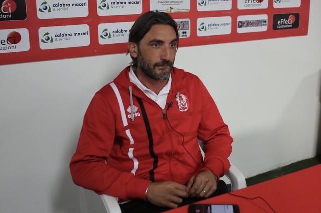 Francesco Modesto, allenatore del Rende - Foto Francesco Donato
