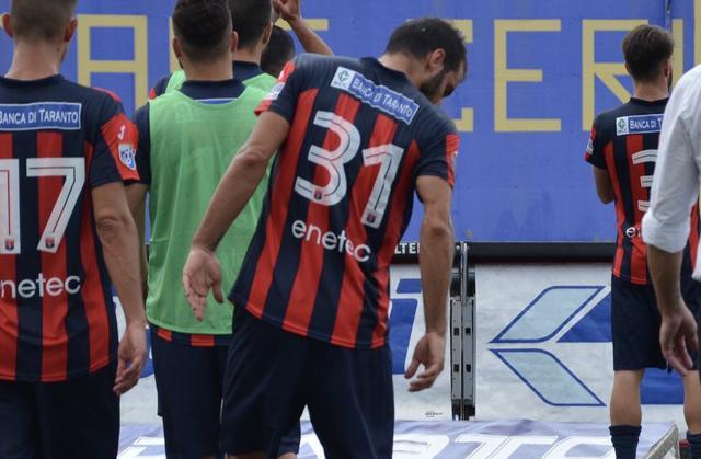 Dario Bova, difensore del Taranto - Foto Nicola Carpignano/Taranto FC