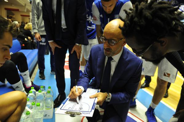 Frank Vitucci, coach di Brindisi - Foto New Basket Brindisi