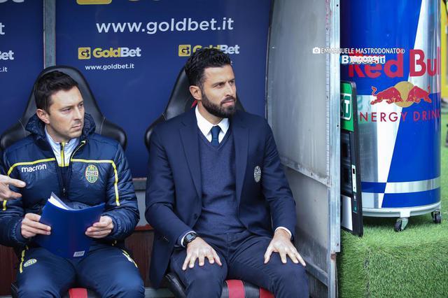 Fabio Grosso, allenatore del Verona