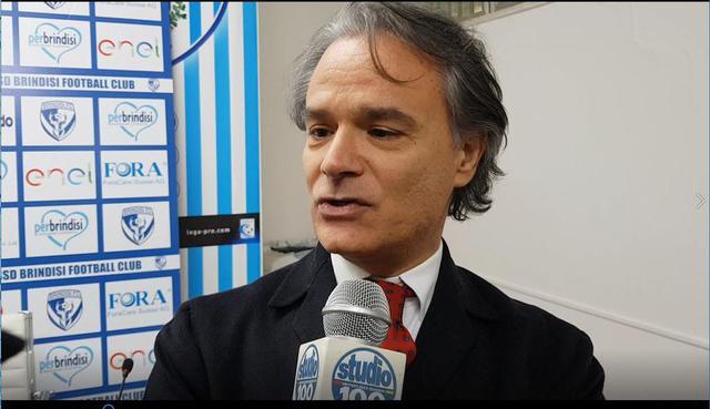 Giampiero Maci, presidente del Casarano Calcio