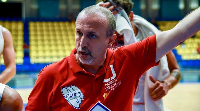 Davide Olive, coach del Cus Jonico Taranto - Foto Aurelio Castellaneta