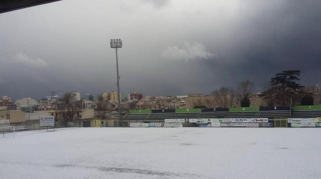 Ecco come si presenta lo stadio 'Città degli Ulivi' di Bitonto