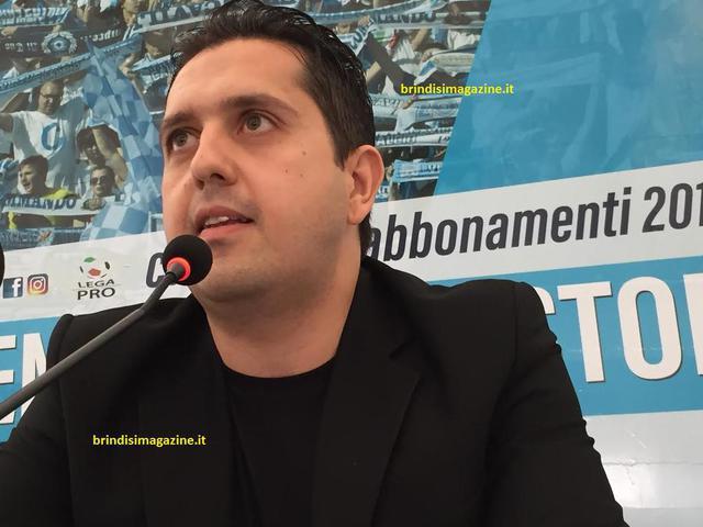 Gigi Valentini, direttore generale della Virtus Francavilla