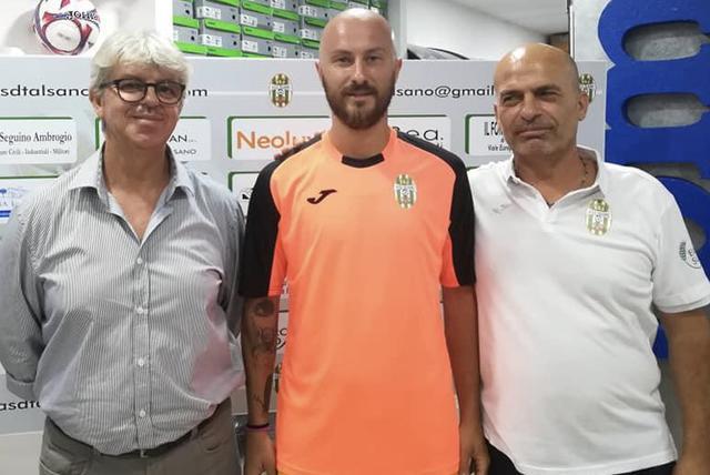 Da sinistra: Il presidente Fornaro, Antonio Angelini e il tecnico Frascella