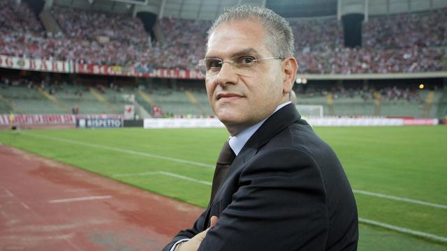 Cosmo Giancaspro, presidente del Bari - Foto Corriere dello Sport
