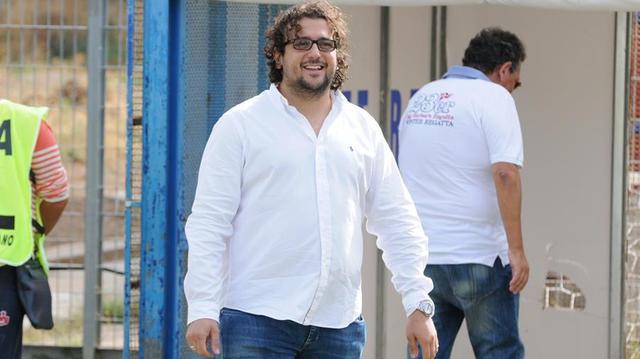 Saverio Columella, patron del Matera - Foto Sandro Veglia