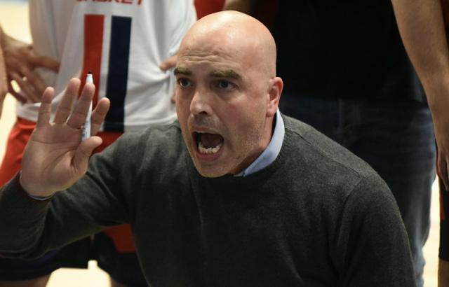 Giulio Caricasole, coach del Cus Jonico Taranto - Foto Aurelio Castellaneta
