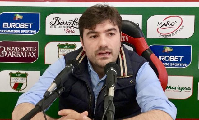 Daniele Arras, presidente del Lanusei - Foto SportAvellino.it