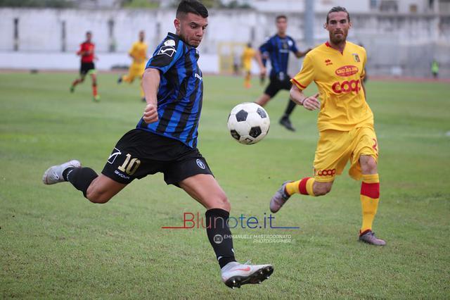 Alessandro Gatto, attaccante del Bisceglie