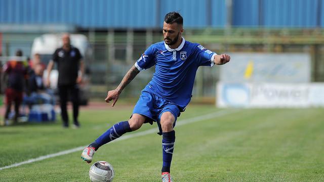 Nicholas Bensaja, centrocampista della Paganese - Foto Corriere dello Sport