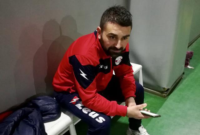 Stefano Latartara, allenatore dellAtletic Club Taranto