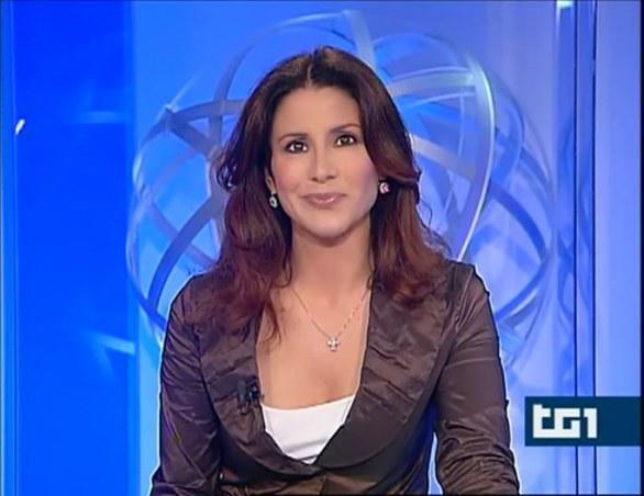 Barbara Capponi, giornalista e conduttrice del Tg1