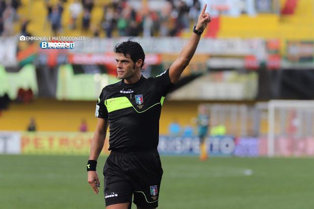 Nasca di Bari, dirigerà Verona-Benevento