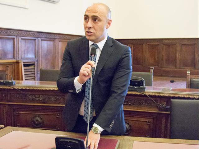 Piero Bitetti, consigliere comunale e provinciale - Foto La Ringhiera