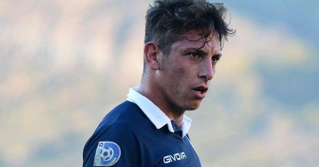 Antonio Martiniello, 22 anni, attaccante della Cavese