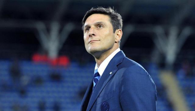 Javier Zanetti, bandiera dellInter di cui oggi è il capitano