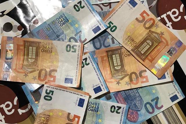 Le presunte banconote false utilizzate mercoledì per acquistare biglietti per il settore ospiti