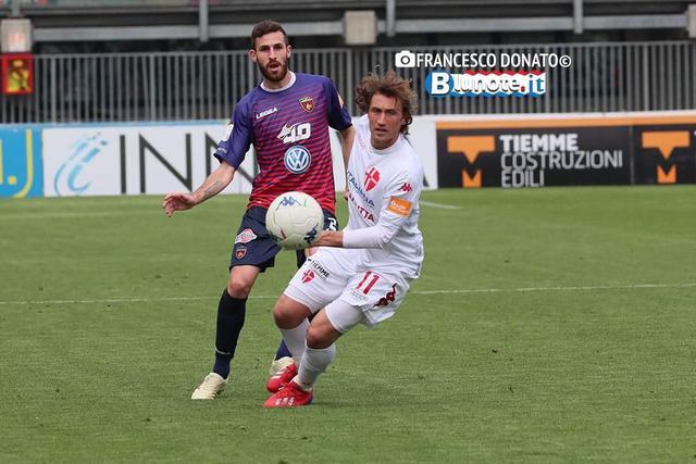 Una fase di Padova-Cosenza 0-0