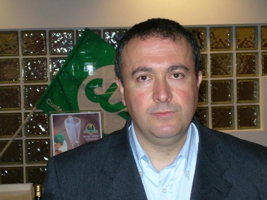 Vito Rubino, direttore provinciale di CIA Due Mari (Taranto-Brindisi)