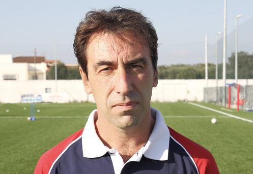Federico Malacari, allenatore dei Giovanissimi del Taranto