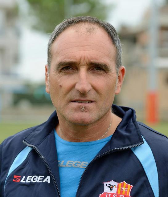 Costanzo Palmieri, allenatore del San Severo