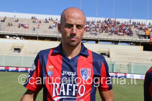 Umberto Improta, ex attaccante del Taranto, nella stagione appena conclusa alla Turris
