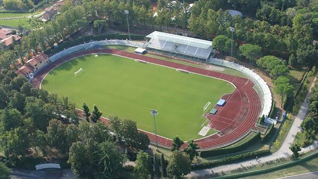 Lo stadio 'Romeo Galli' di Imola
