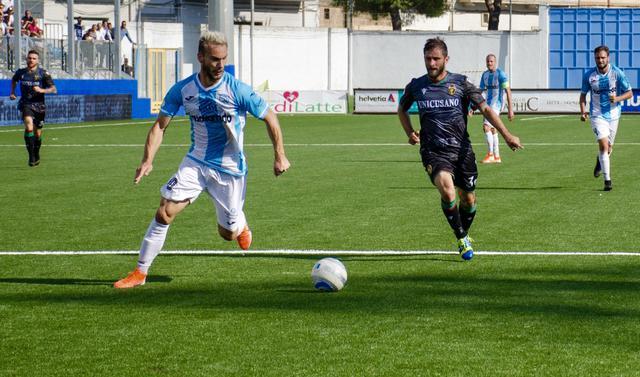 Perez in azione: il suo gol non ha evitato la sconfitta casalinga con la capolista Ternana