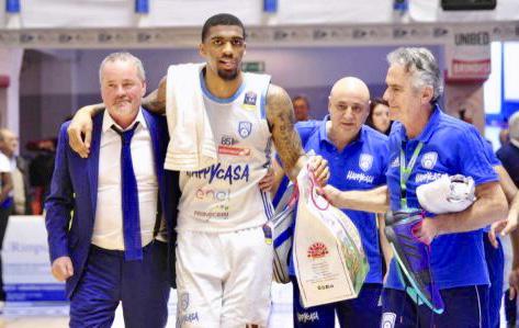 Devondrick Walker - Foto New Basket Brindisi