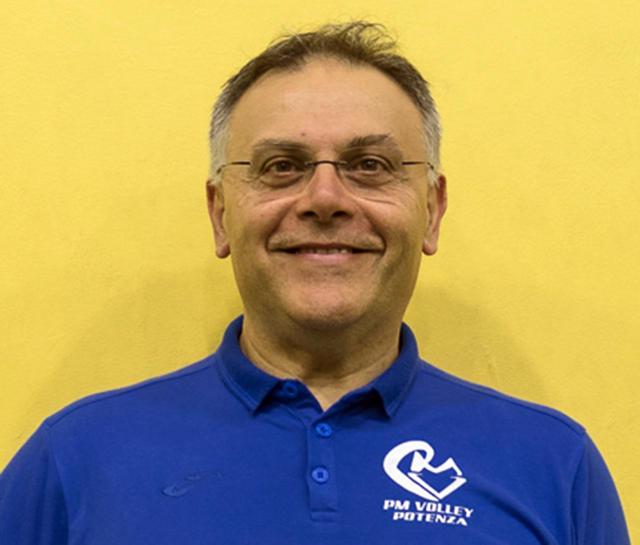 Michele Miglionico, allenatore della P2M En&Gas Potenza
