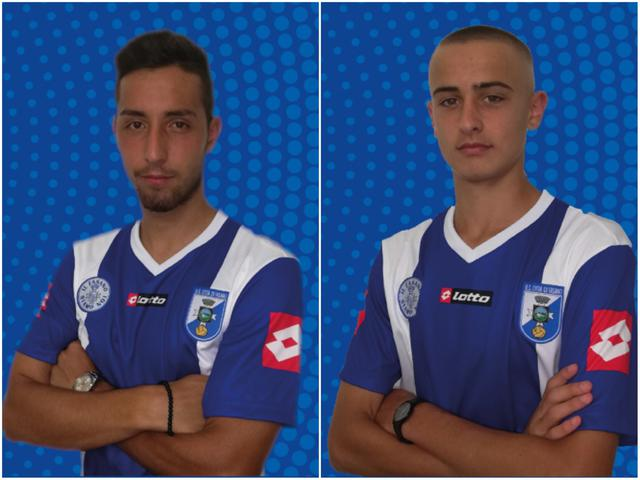 Da sinistra: Antonio Mangione e Luca Notaristefano