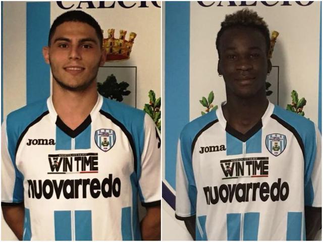 Marco Cancellutti e Mamadou Alfred Kone
