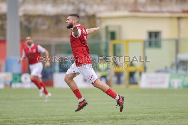 Decisivo. Liccardi ha firmato il gol vittoria per la Turris