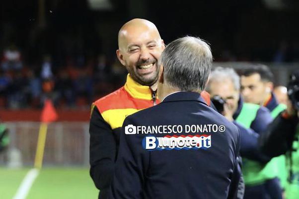Christian Bucchi, allenatore passato dal Benevento allEmpoli