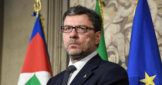 Giancarlo Giorgetti, sottosegretario di stato alla presidenza del Consiglio dei Ministri