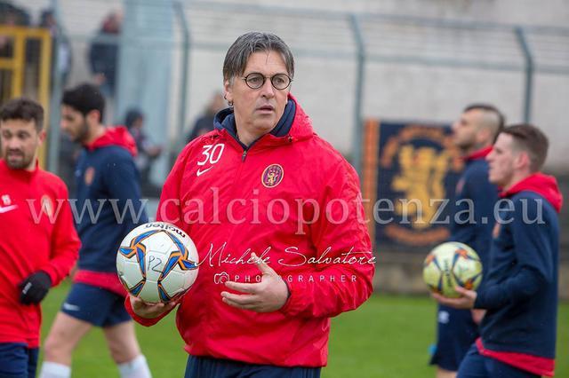 Nicola Ragno, allenatore del Potenza