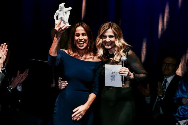 Cristina Parodi e Lorella Cuccarini - Foto Daniele Galli