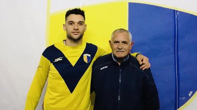 Francesco Indirli con il segretario Giansante