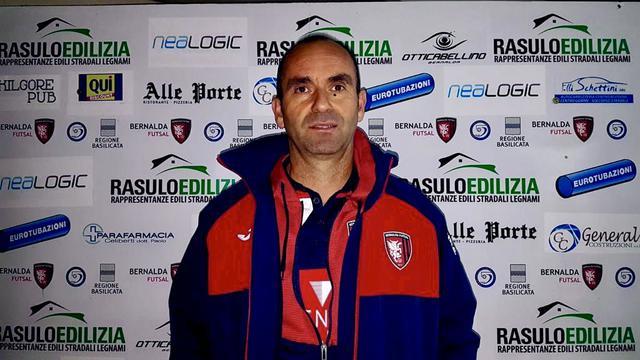 Flavio Do Amaral, allenatore del Bernalda Futsal