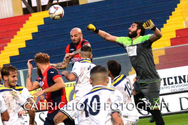 Un'immagine di Taranto-Gragnano della passata stagione