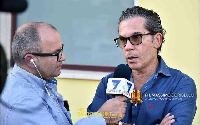 Franco D'Amico, presidente del Fasano