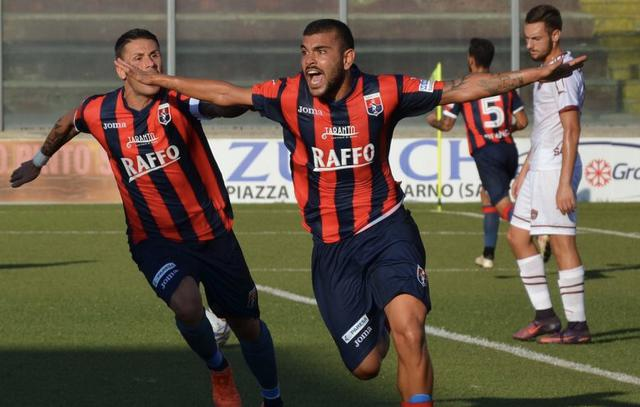 Ciro Favetta nella foto Nicola Carpignano/Taranto FC