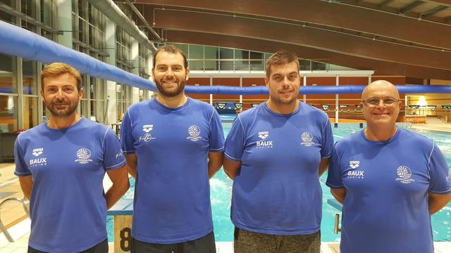 I quattro nuovi tecnici della Mediterraneo Taranto