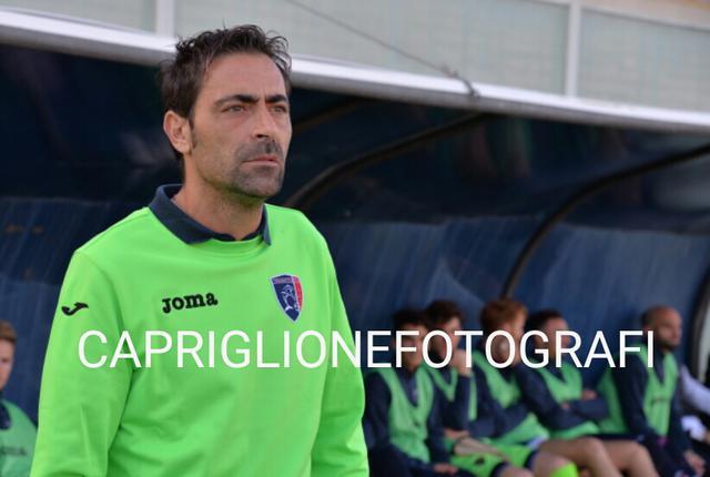 Michele Cazzarò, allenatore del Taranto